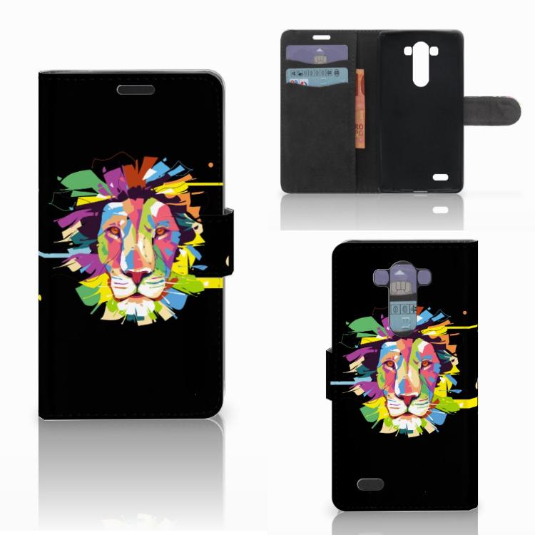 LG G3 Leuk Hoesje Lion Color