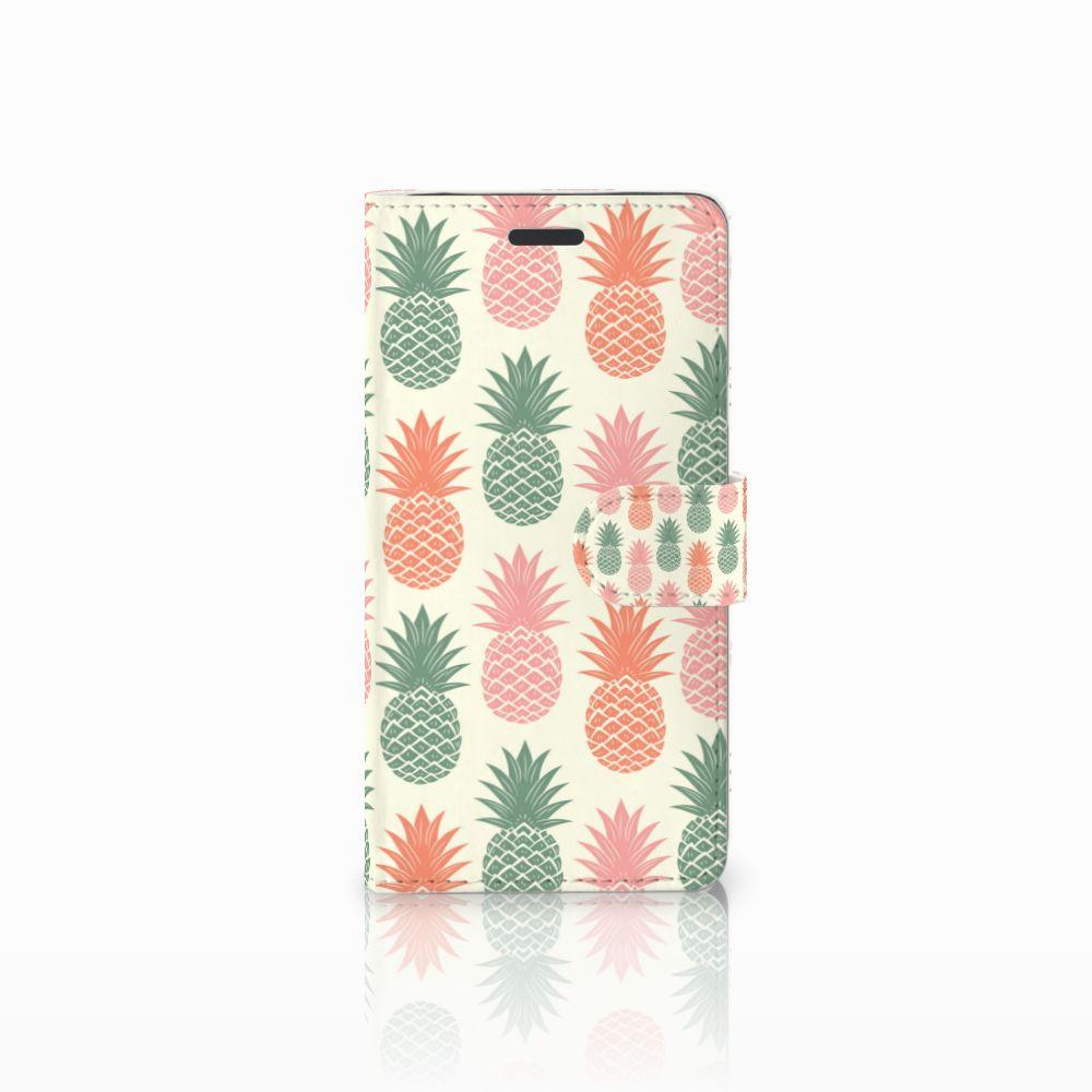 Samsung Galaxy Note 5 Boekhoesje Design Ananas