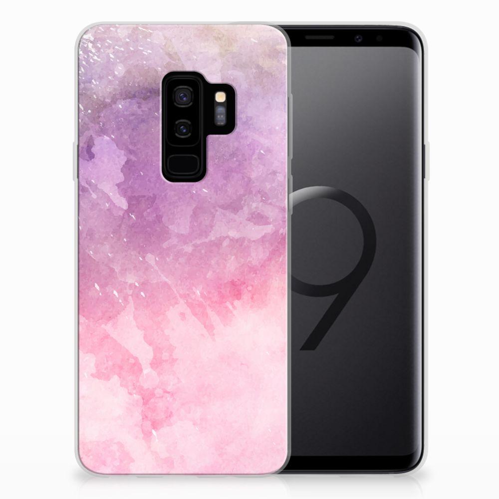 Hoesje maken Samsung Galaxy S9 Plus Pink Purple Paint