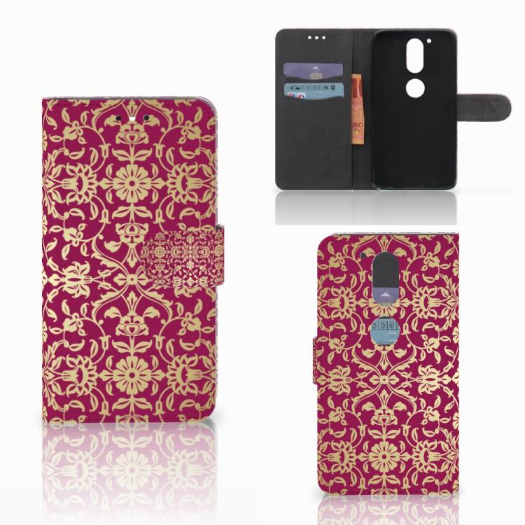 Wallet Case Motorola Moto G4 | G4 Plus Barok Pink