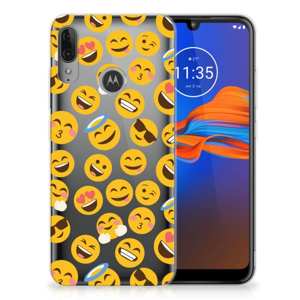 Motorola Moto E6 Plus TPU bumper Emoji