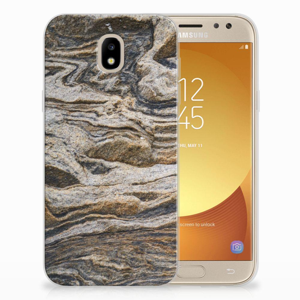 Samsung Galaxy J5 2017 TPU Hoesje Design Steen