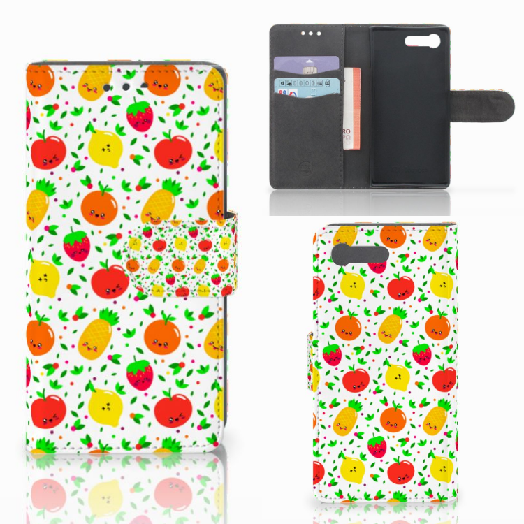Sony Xperia X Compact Book Cover Fruits