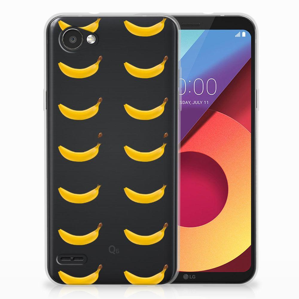 LG Q6 | LG Q6 Plus Siliconen Case Banana