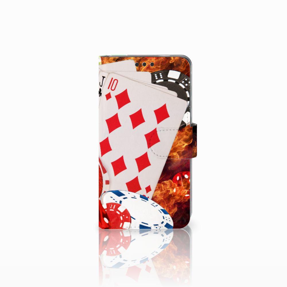 Nokia 3 Uniek Boekhoesje Casino