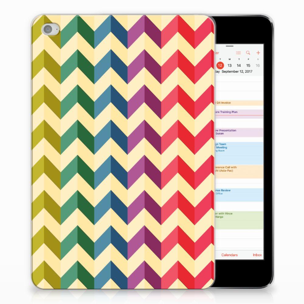 Apple iPad Mini 4 | Mini 5 (2019) Hippe Hoes Zigzag Multi Color