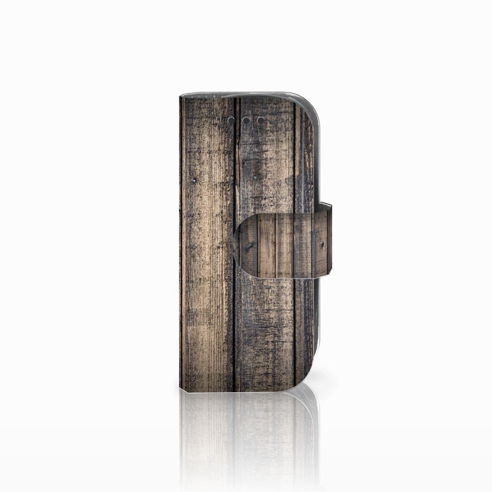 Nokia 3310 (2017) Boekhoesje Design Steigerhout