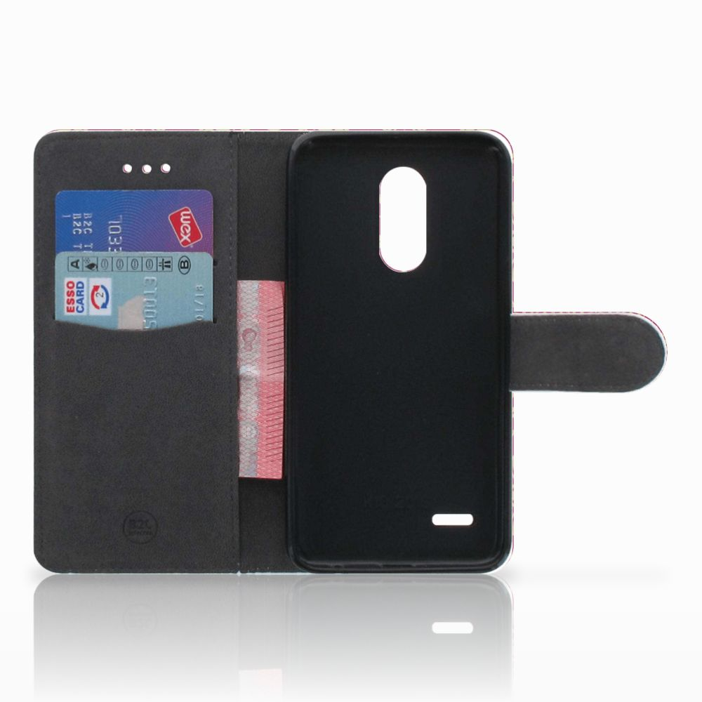 Wallet Case LG K11 Barok Pink