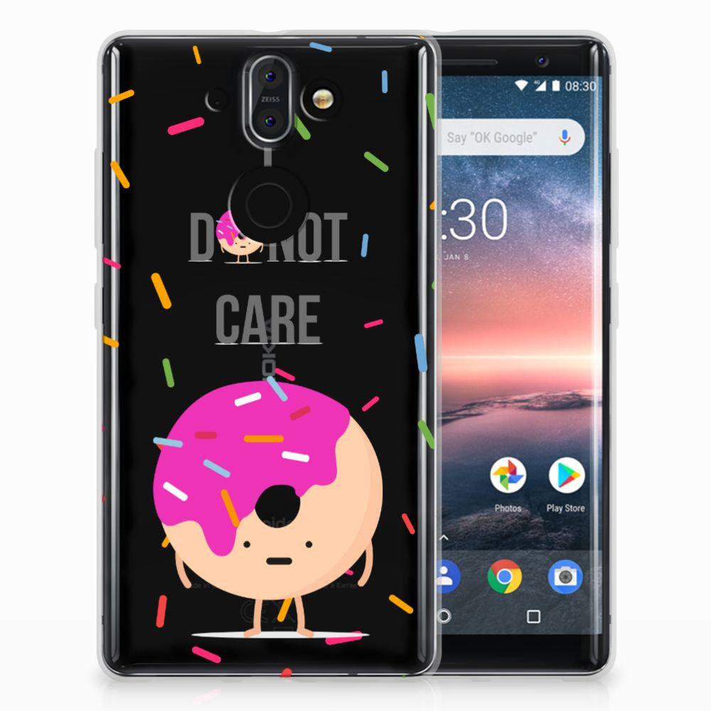 Nokia 9 | 8 Sirocco Siliconen Case Donut Roze