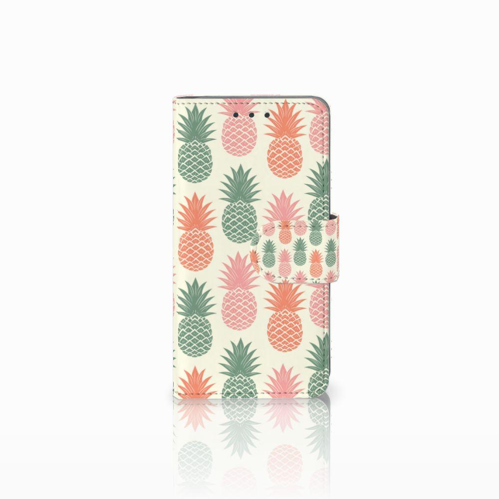 Samsung Galaxy A3 2015 Boekhoesje Design Ananas
