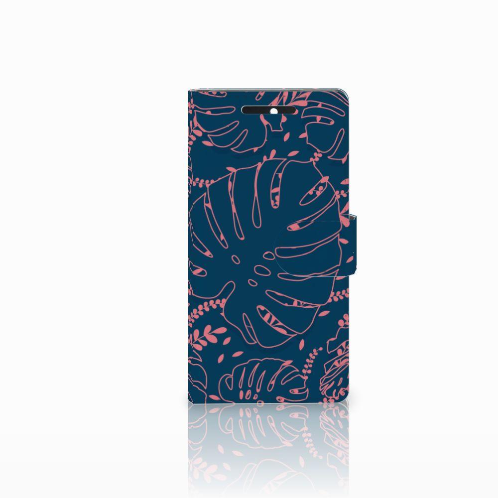 HTC Desire 628 Boekhoesje Design Palm Leaves