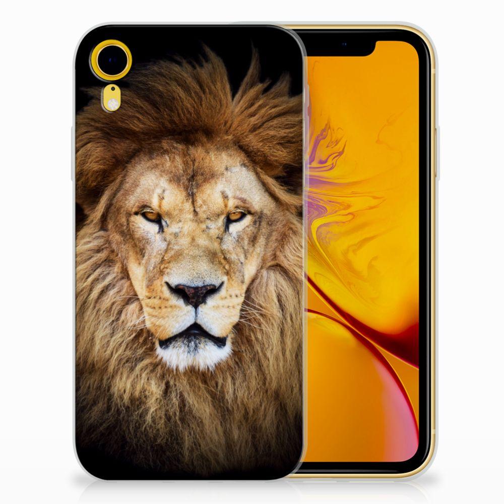 Apple iPhone Xr TPU Hoesje Design Leeuw