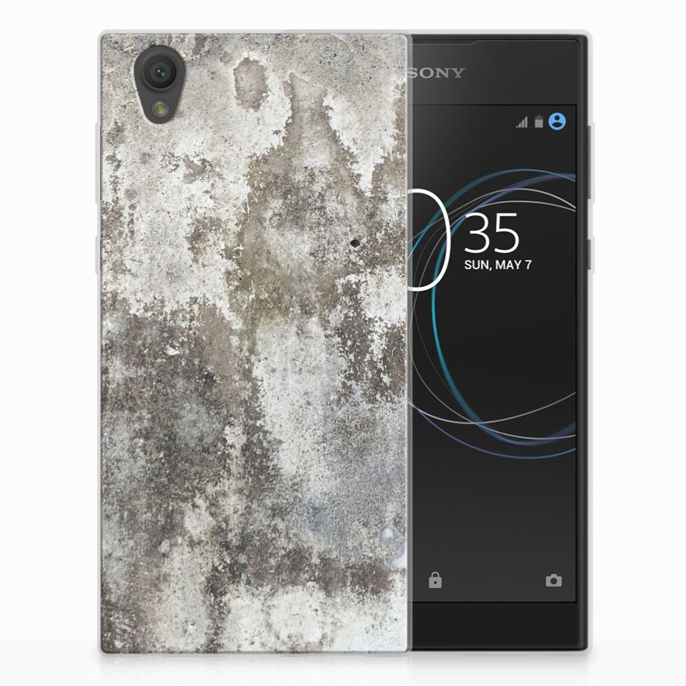 Sony Xperia L1 TPU Hoesje Design Beton