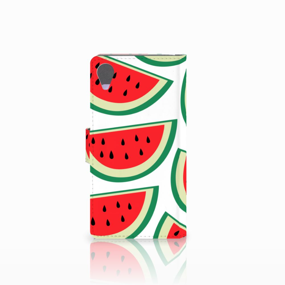 Sony Xperia X Performance Book Cover Watermelons