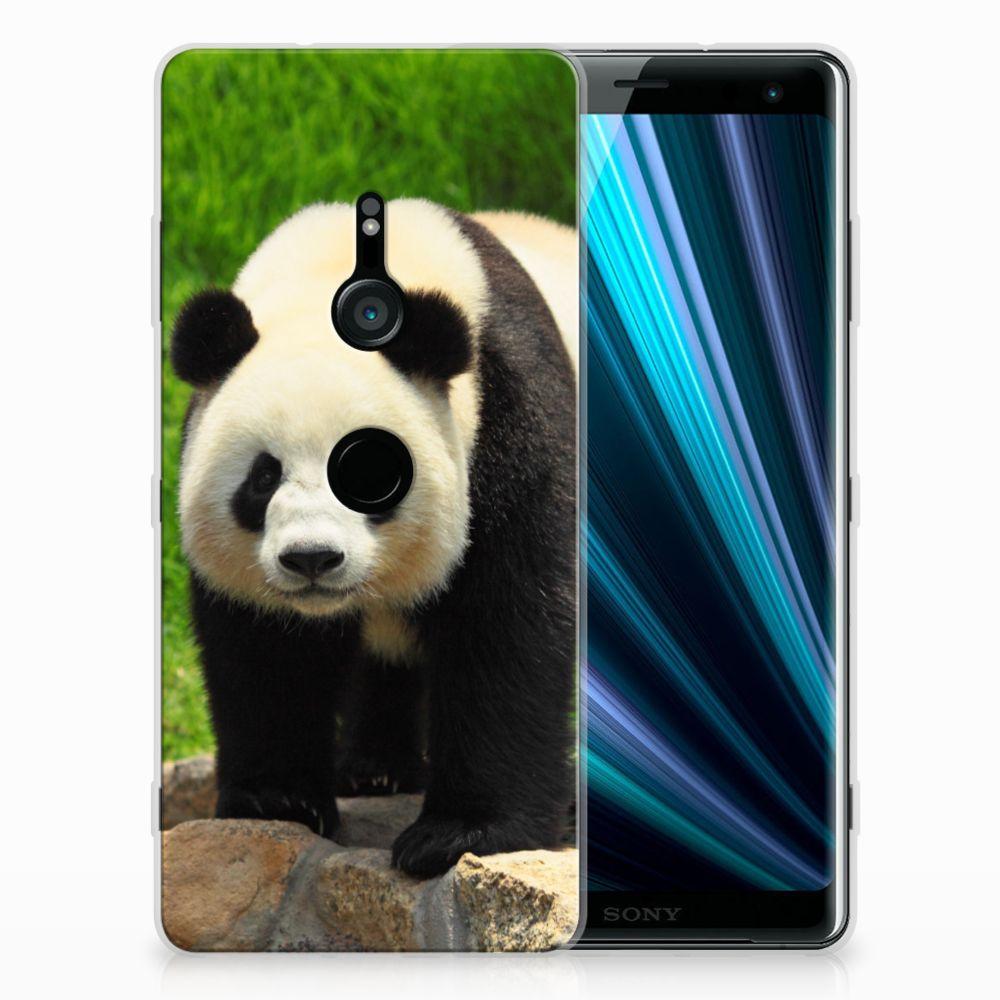 Sony Xperia XZ3 TPU Hoesje Panda
