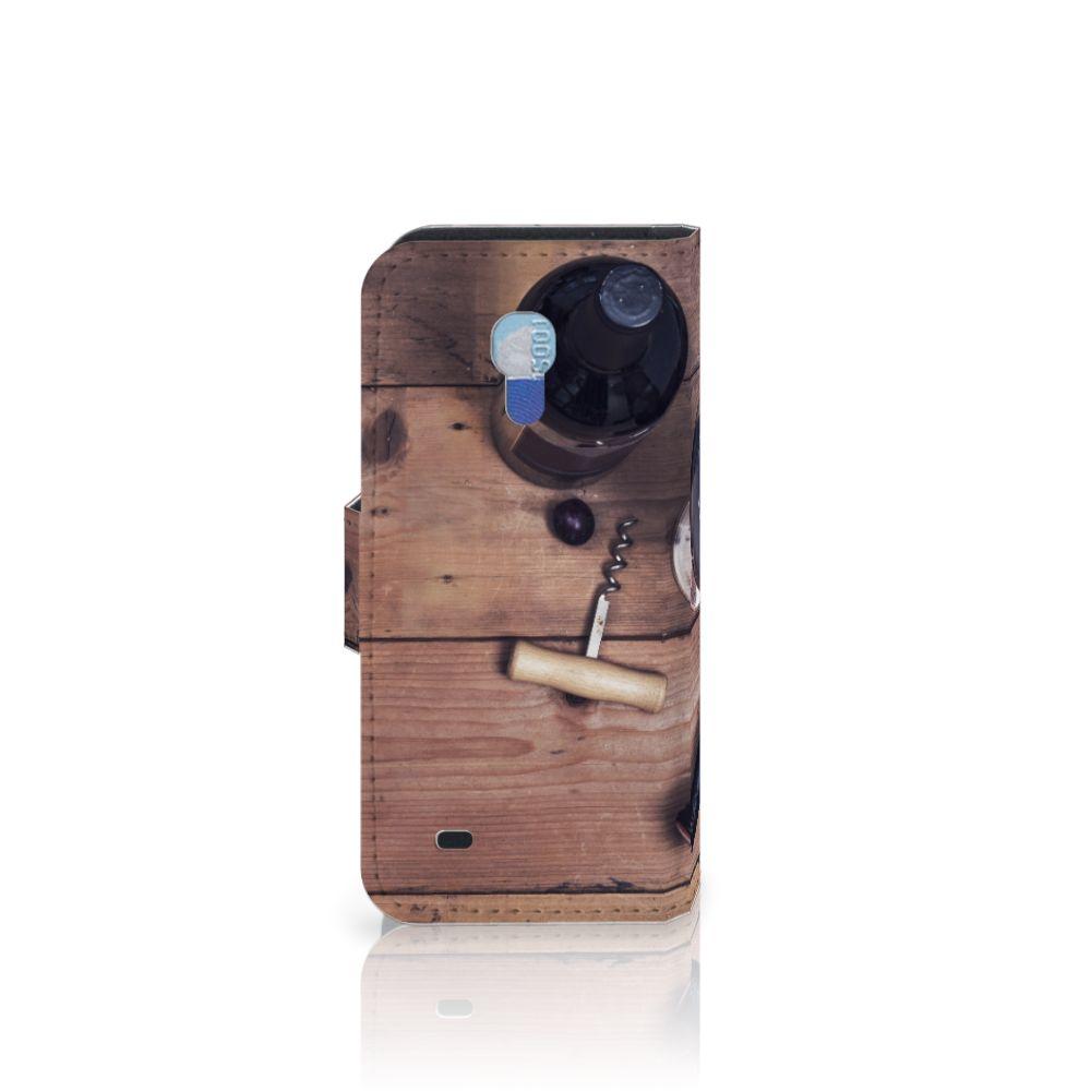 Samsung Galaxy S4 Mini i9190 Book Cover Wijn
