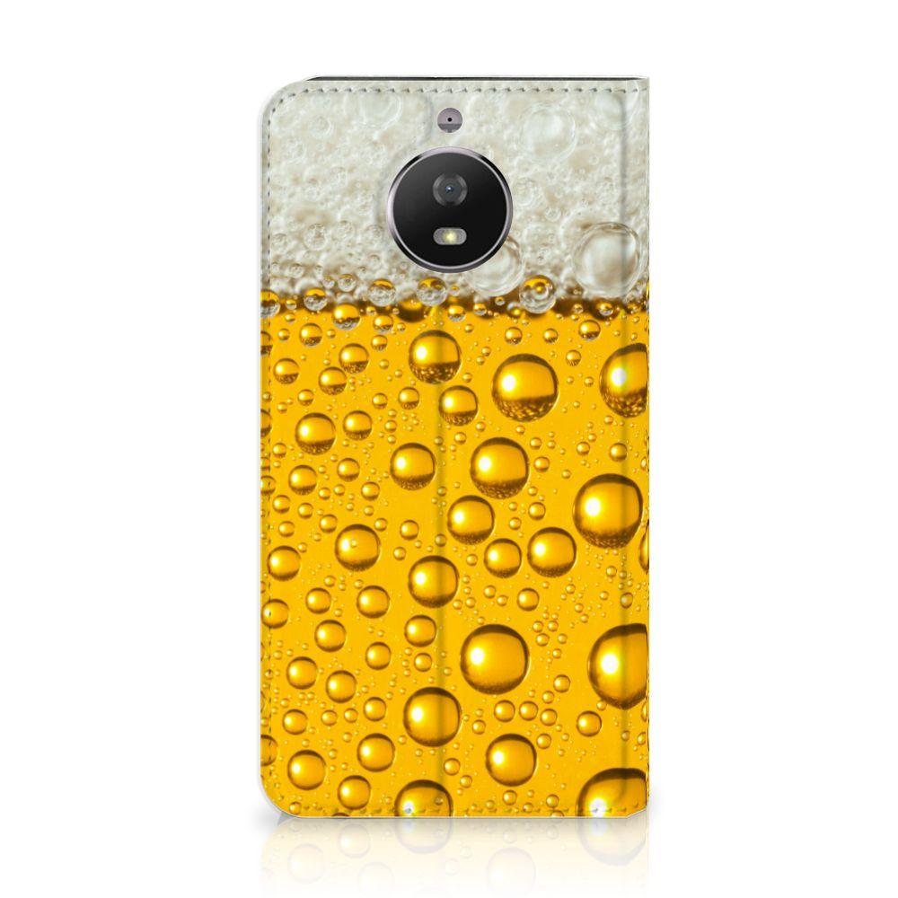 Motorola Moto G5S Uniek Standcase Hoesje Bier