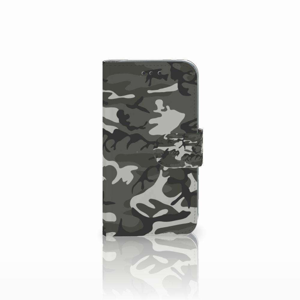 Samsung Galaxy Core Prime Uniek Boekhoesje Army Light