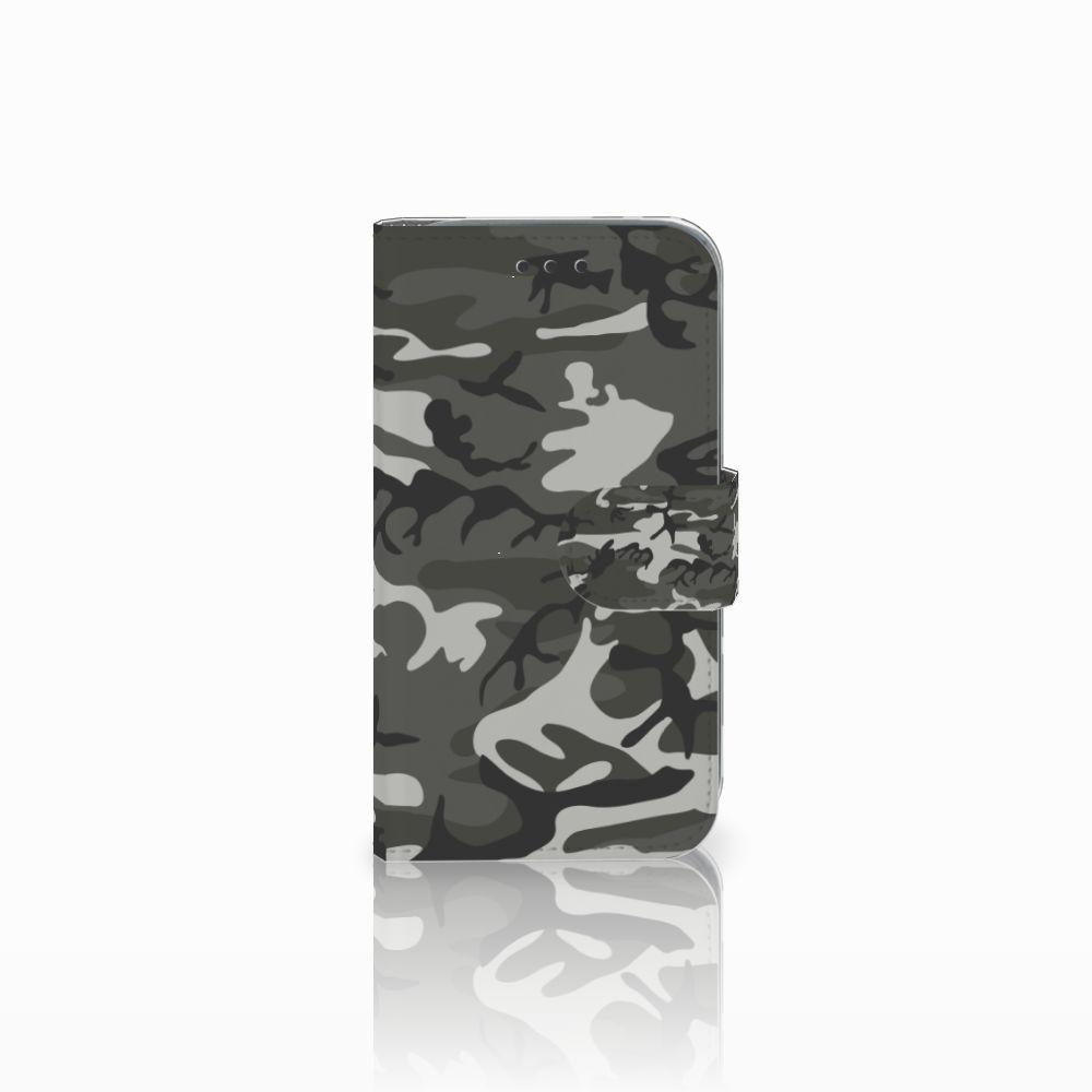 Samsung Galaxy Core Prime Uniek Boekhoesje Army Light