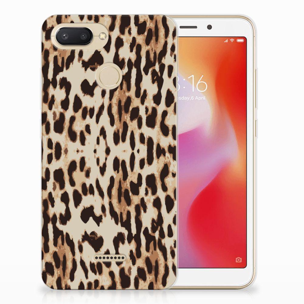 Xiaomi Redmi 6 TPU Hoesje Leopard