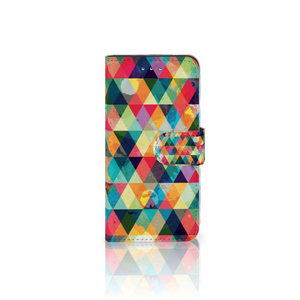 Samsung Galaxy S6 | S6 Duos Uniek Boekhoesje Geruit