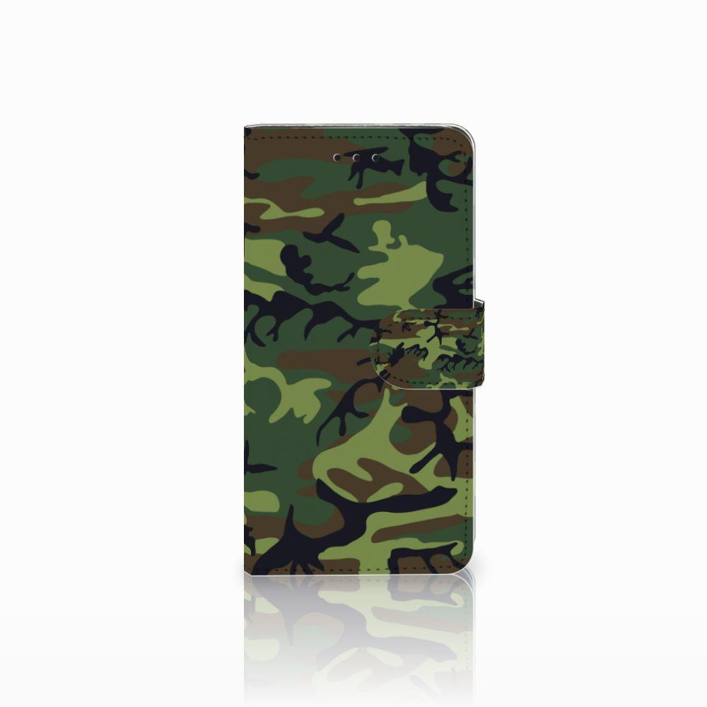 Huawei Y5 2018 Telefoon Hoesje Army Dark