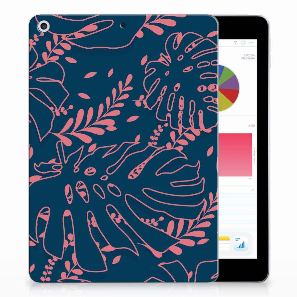 Apple iPad 9.7 2018 | 2017 Tablethoesje Design Palm Leaves