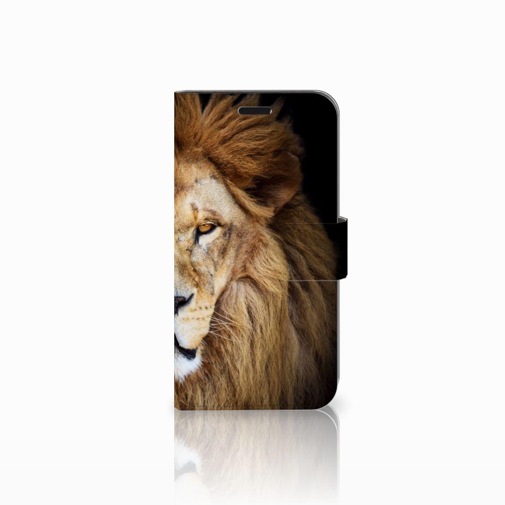Huawei Nova Boekhoesje Design Leeuw