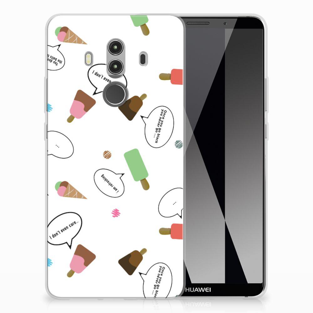 Huawei Mate 10 Pro TPU Hoesje Design IJsjes