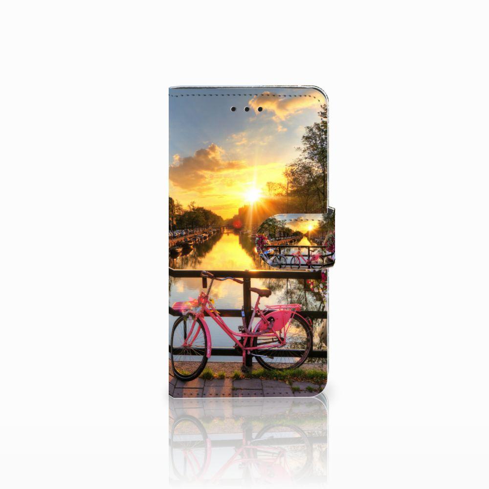 Huawei Y5 2018 Uniek Boekhoesje Amsterdamse Grachten