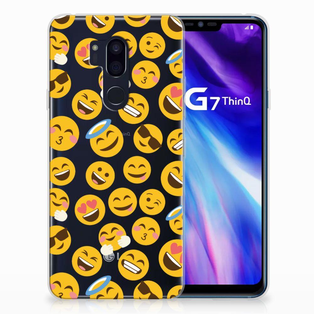 LG G7 Thinq TPU bumper Emoji