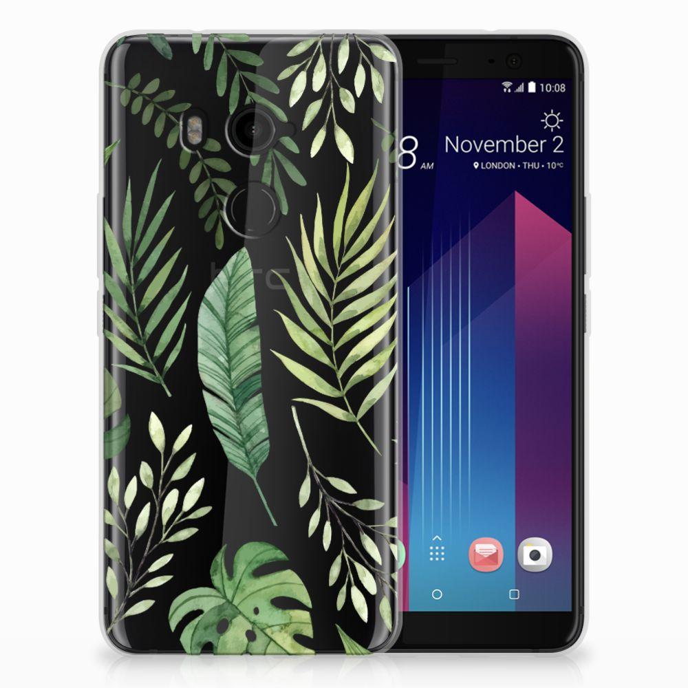 HTC U11 Plus TPU Case Leaves