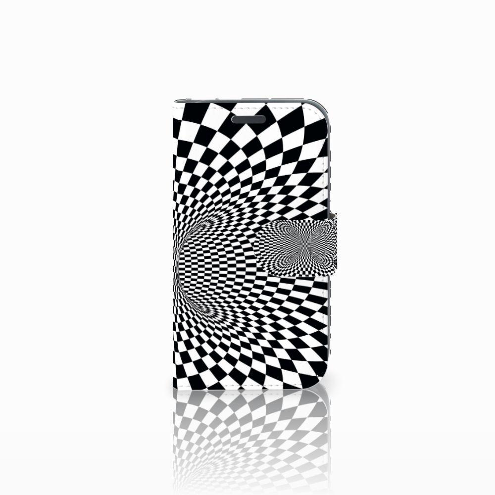 Samsung Galaxy J1 2016 Bookcase Illusie