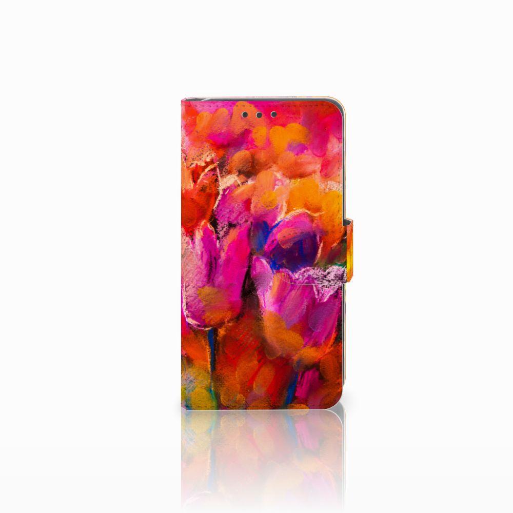 Hoesje Huawei Y5 2   Y6 II Compact Tulips