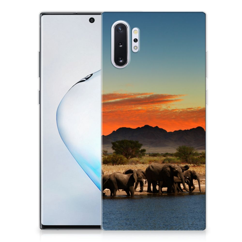 Samsung Galaxy Note 10 Plus Back Case Olifanten