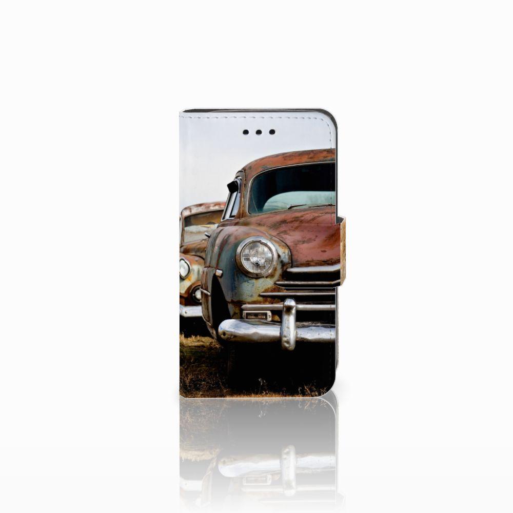 Samsung Galaxy Trend 2 Telefoonhoesje met foto Vintage Auto