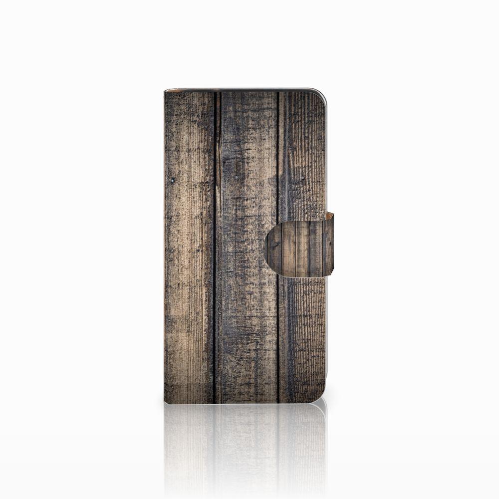 Samsung Galaxy J2 2016 Boekhoesje Design Steigerhout