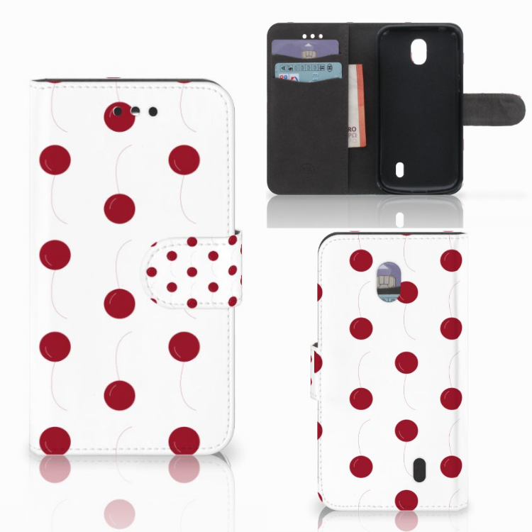 Nokia 1 Book Cover Cherries