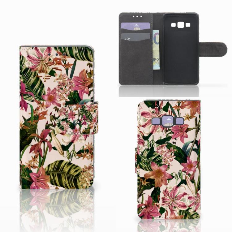 Samsung Galaxy A3 2015 Hoesje Flowers