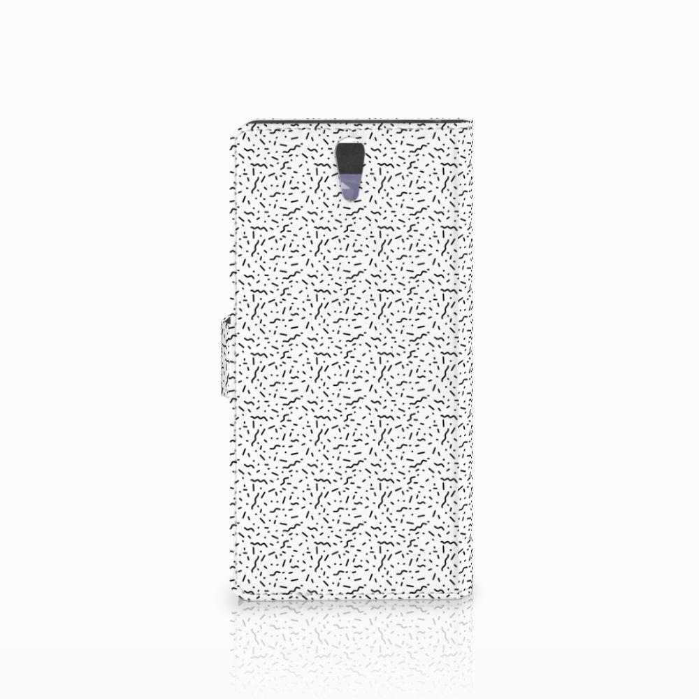 Sony Xperia C5 Ultra Telefoon Hoesje Stripes Dots