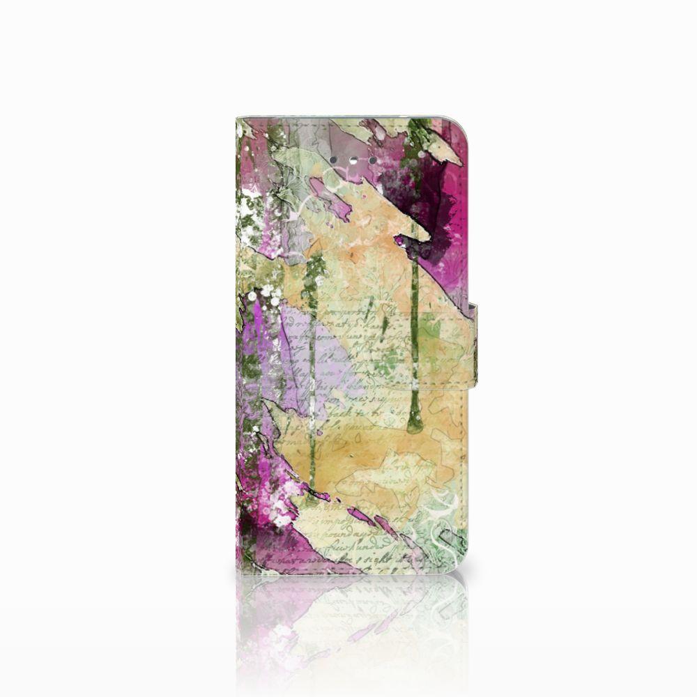 LG Nexus 5X Uniek Boekhoesje Letter Painting