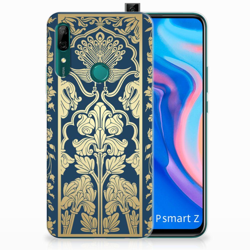 Huawei P Smart Z TPU Case Golden Flowers