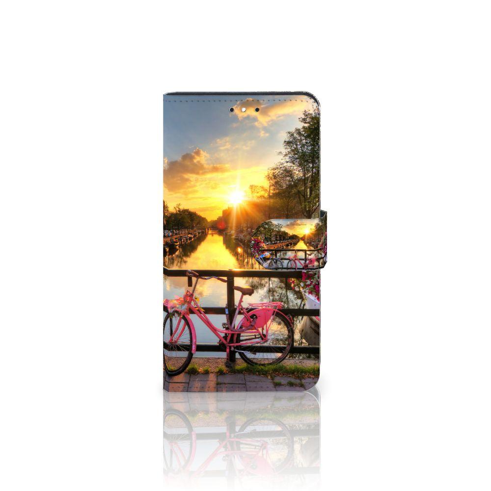 Motorola Moto G5S Plus Uniek Boekhoesje Amsterdamse Grachten
