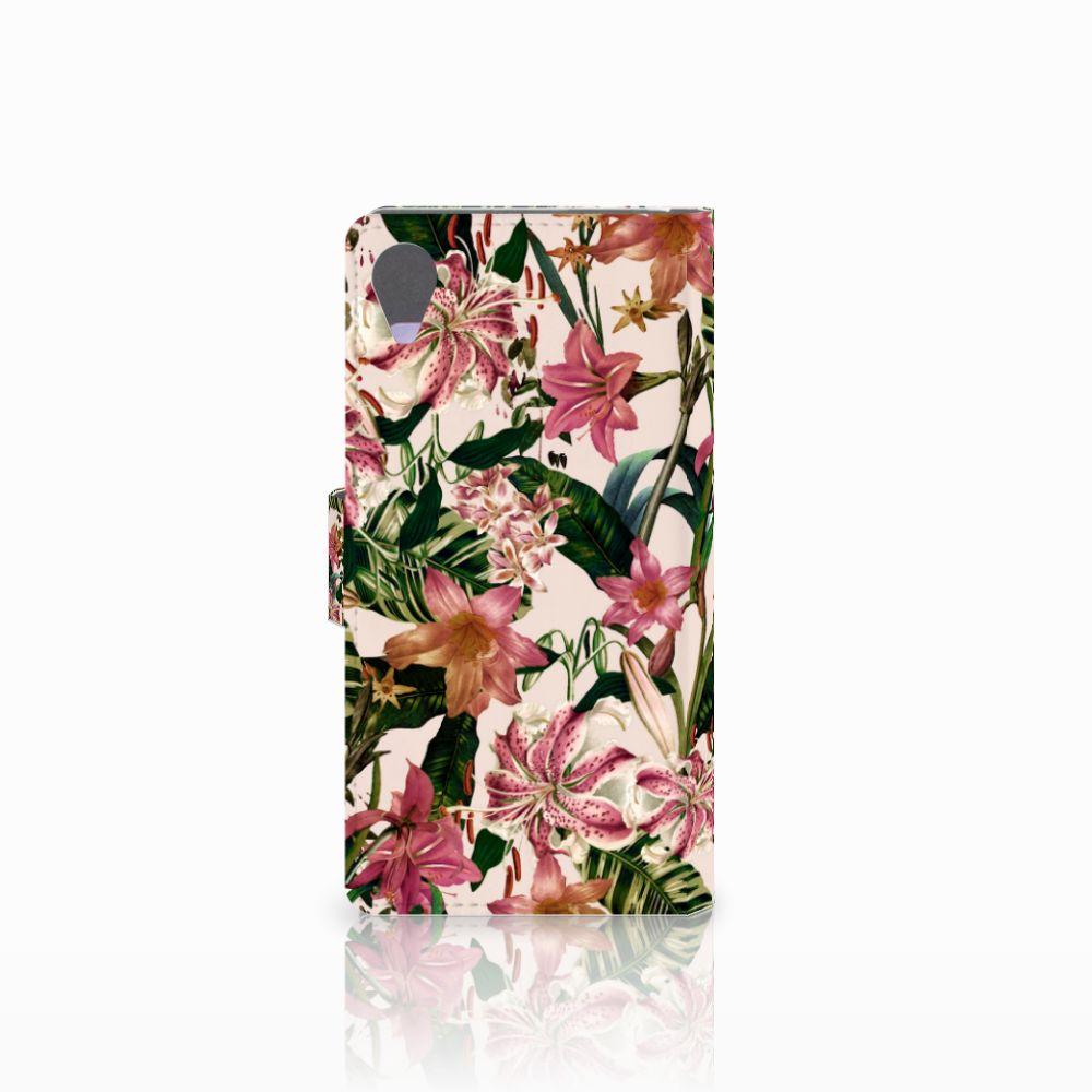 Sony Xperia X Performance Hoesje Flowers