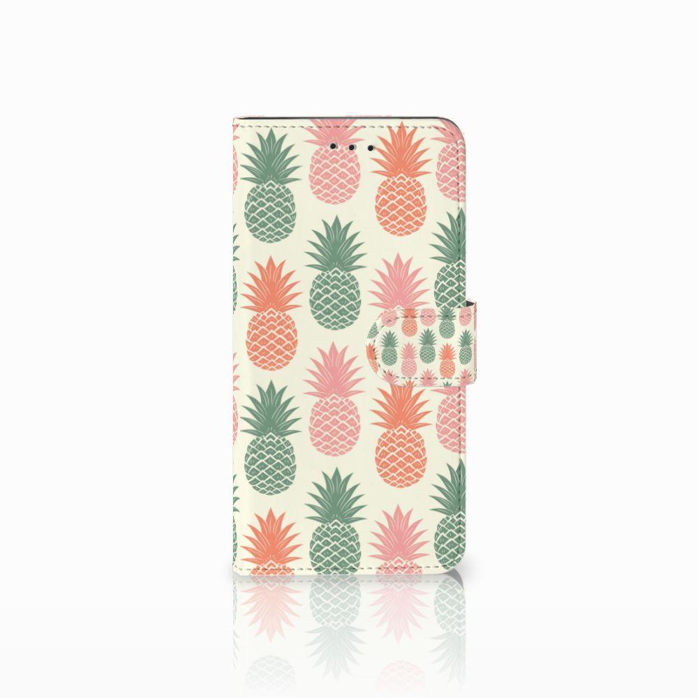 Motorola Moto E5 Play Boekhoesje Design Ananas