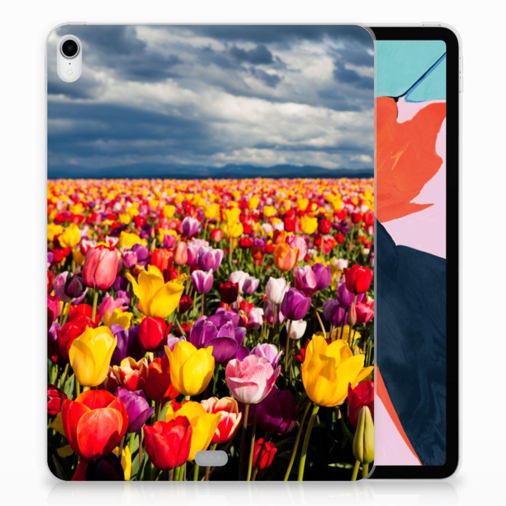 Apple iPad Pro 11 inch (2018) Uniek TPU Hoesje Tulpen