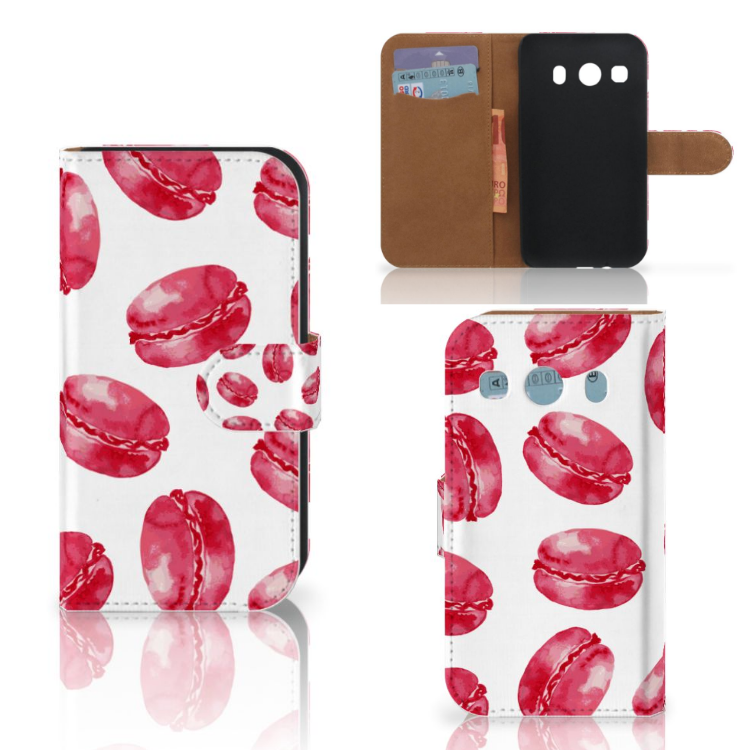 Samsung Galaxy Ace 4 4G (G357-FZ) Book Cover Pink Macarons