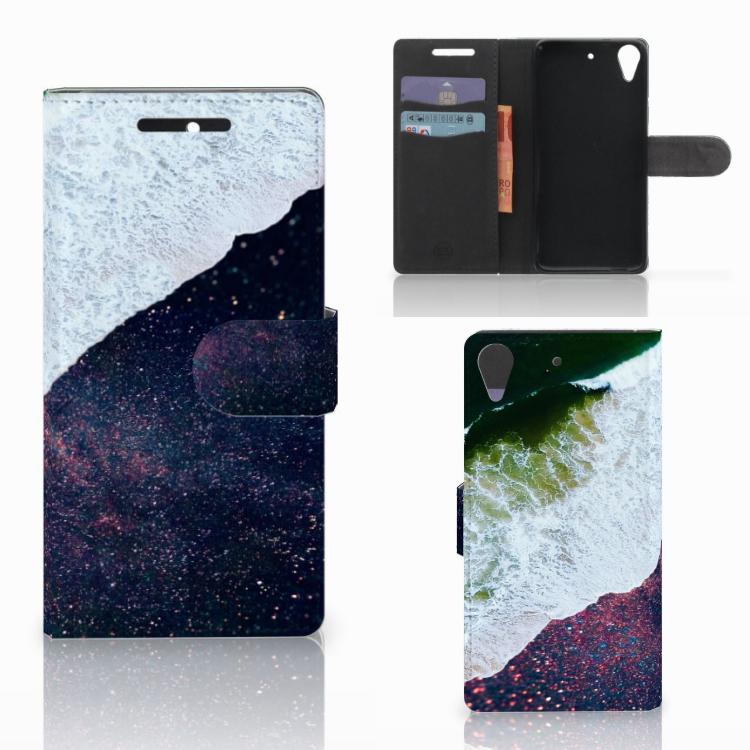 HTC Desire 628 Bookcase Sea in Space