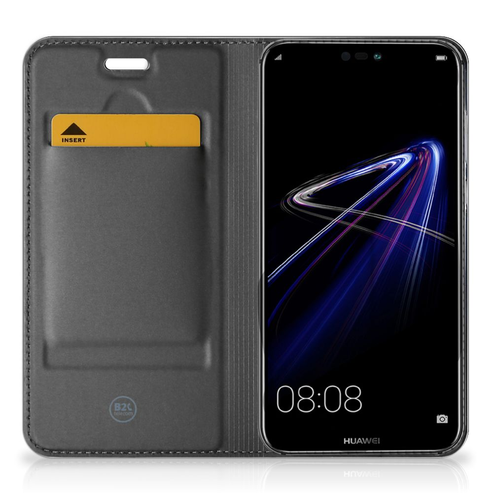 Huawei P20 Lite Flip Style Cover Whiskey