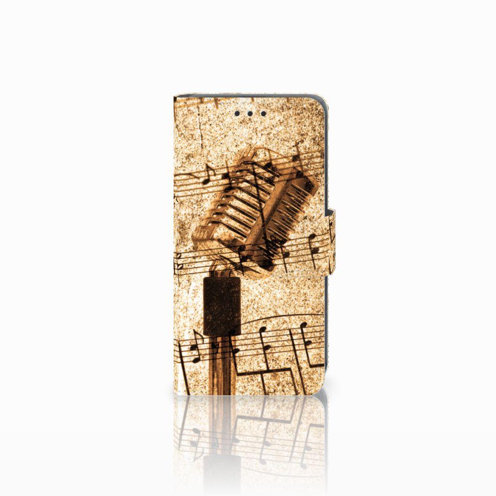 Nokia Lumia 630 Uniek Boekhoesje Opbergvakjes Bladmuziek